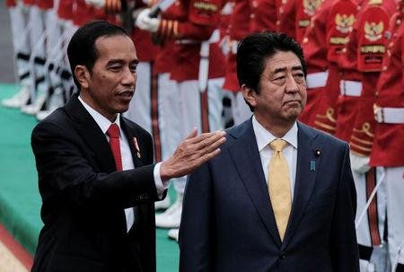 Indonesia, Japan discuss maritime security, railway project