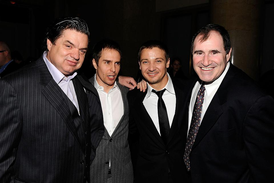 19th Annual Gotham Independent Film Awards 2009 Oliver Platt Sam Rockwell Jeremy Renner Richard Kind