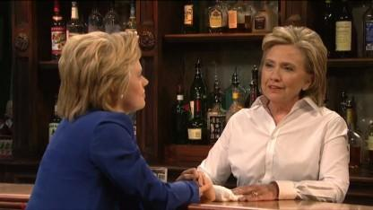 Donald Trump Praises Hillary Clinton's 'SNL' Skit Mocking Him: 'She Did a Nice Job'