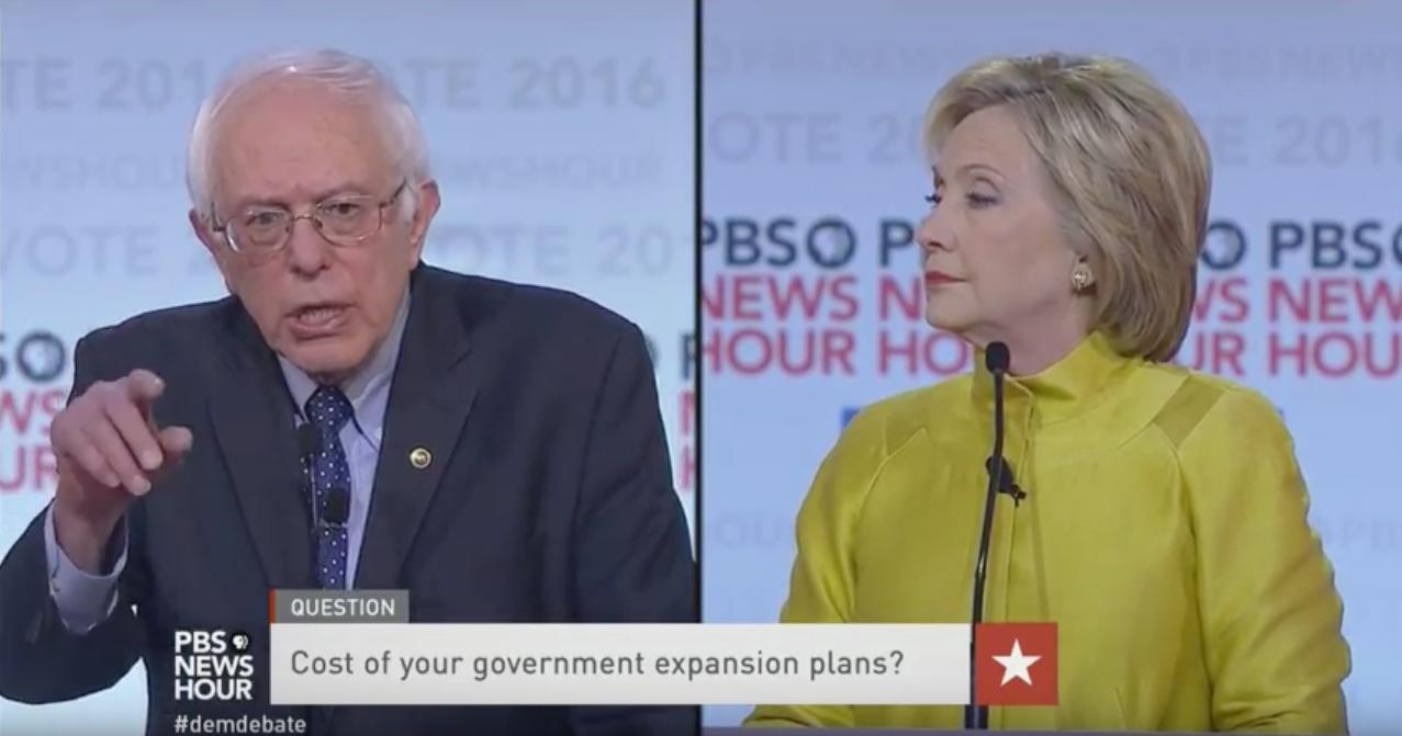 Bernie Sanders jabs at Hillary Clinton: 'You're not in the White House yet'