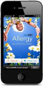 WebMD Introduces New Allergy App for iPhone