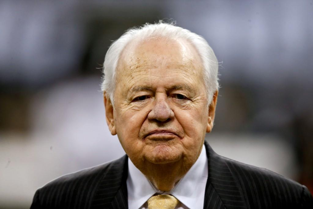 Saints' owner Tom Benson gives emotional update on family heirs