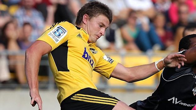 Beauden Barrett of the Hurricanes (AFP)