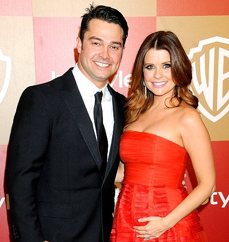 JoAnna Garcia and Nick Swisher …