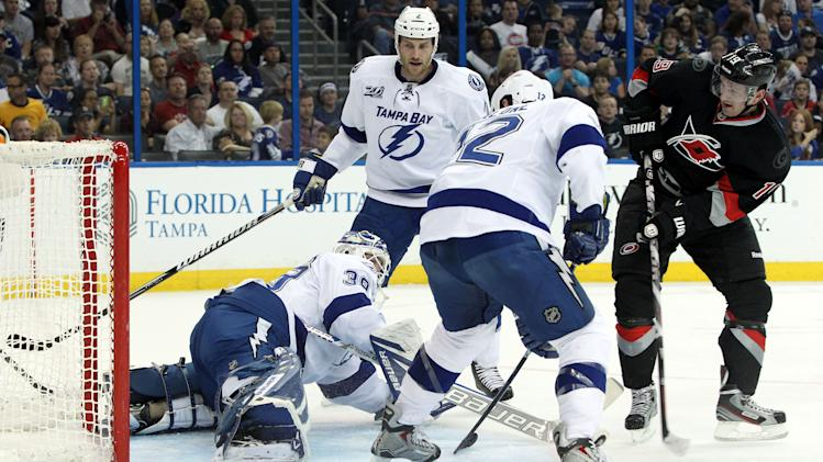 NHL: Carolina Hurricanes at Tampa Bay Lightning