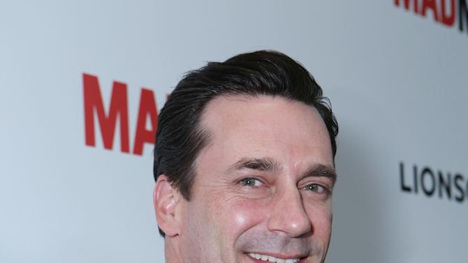 Jon Hamm at the AMC Season 6 Premiere of Mad Men , on Wednesday, March, 20, 2013 in Los Angeles. (Photo by Alexandra Wyman/Invision for AMC/AP Images)