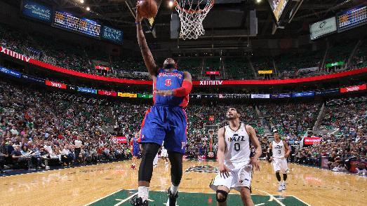 Drummond, Pistons blow by Jazz 114-94 to snap skid