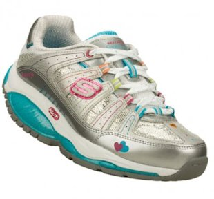 Sketchers is marketing their new Shape-up toning shoes to girls. (Photo: Sketchers.com)