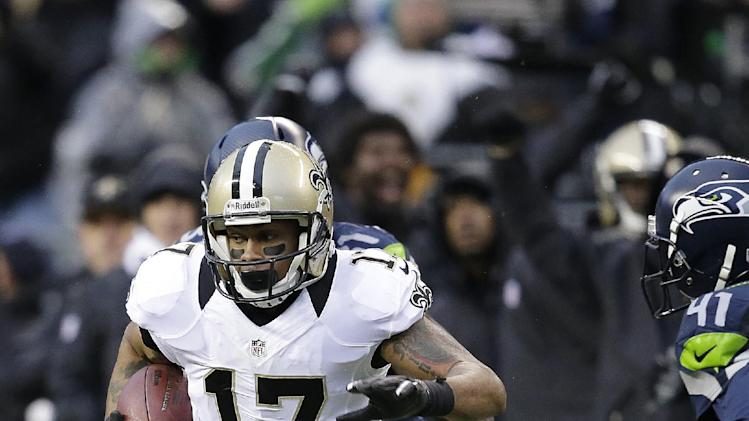 Saints bring back WR Meachem