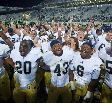 Notre Dame's path to the BCS title game