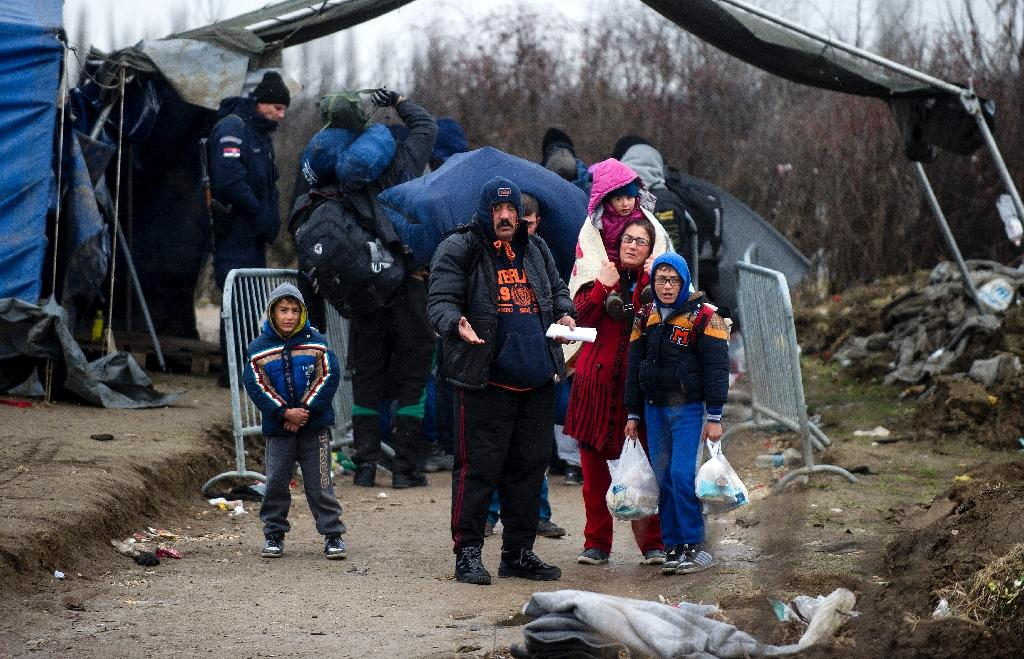 Austria, Hungary warn over migrant influx