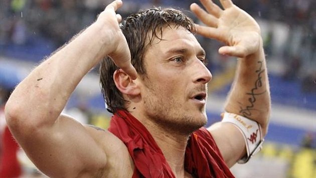 Roma&#39;s Francesco Totti (Reuters)
