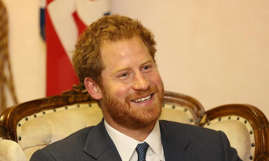 Prince Harry jokes about getting sunburned in hot Lesotho