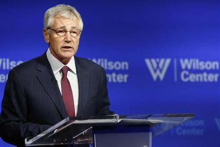 Hagel backs review of U.S. military ban on transgender troops