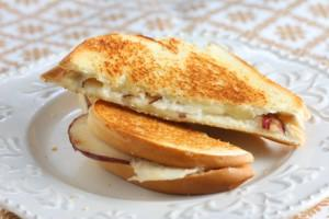 Pear and Gruyère Grilled Cheese