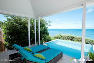 The North Rock Pool Suite at the Cambridge Beaches Resort; Bermuda
