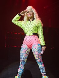 Nicki Minaj performs at Le Zenith in Paris on July 6, 2012 -- Getty Premium
