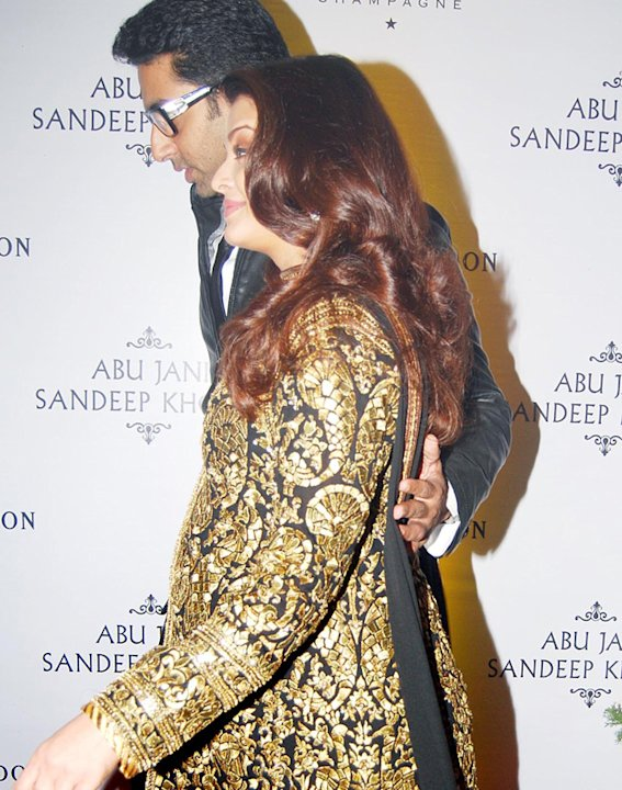 Spotted: Aishwarya and Abhishek