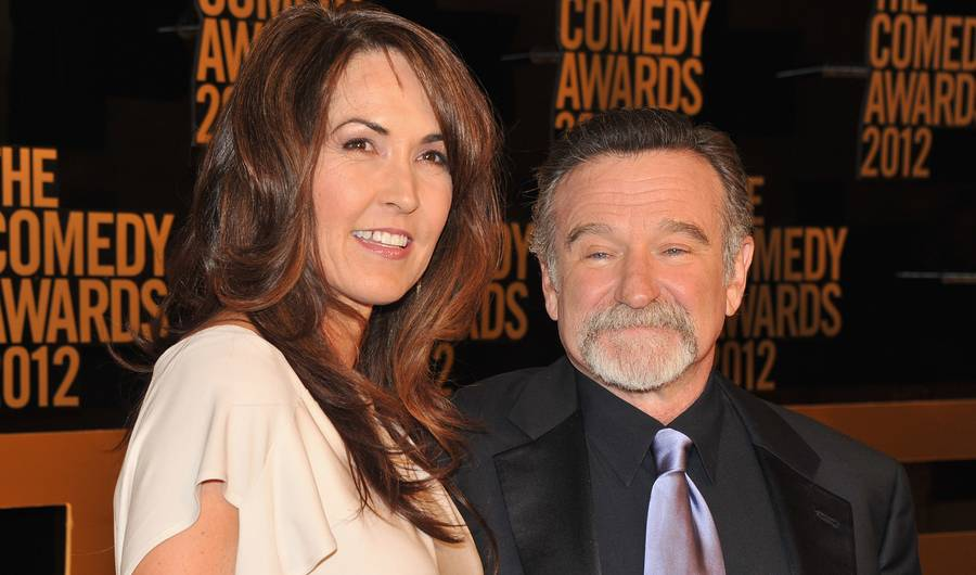 Robin Williams' Widow Says Lewy Body Dementia Was Cause Of Actor's Death