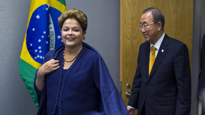 Brazil speech at UN lashes out at US spy program