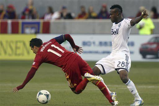 Gil, Morales lead Real Salt Lake past Whitecaps