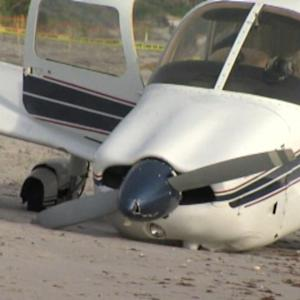 PLANE CRASHES ON FAMILY