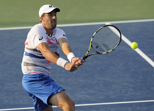 Steve Johnson, who upset No. 5 seed John Isner Wednesday, thought his opponent did deserve the big court. But they didn't get it. (AP Photo/Nick Wass)