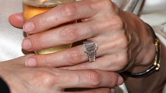 Up Close: Angelina's Stunning Engagement Ring