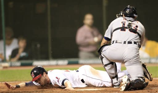 Kipnis and Indians slide past Tigers 4-2