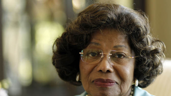 FILE - In this April 27, 2011 file photo, Katherine Jackson poses for a portrait in Calabasas, Calif.  A judge ruled Thursday, Feb. 28, 2013 that Katherine Jackson's lawsuit against AEG Live can continue on a single claim of negligent hiring and supervision of the doctor convicted of involuntary manslaughter in her son Michael's June 2009 death. (AP Photo/Matt Sayles, File)