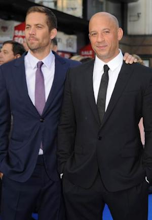 Paul Walker and Vin Diesel attend the 'Fast & Furious 6' world premiere on May 7, 2013 in London -- Getty Images
