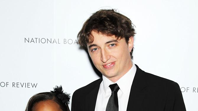 "This Jan. 8, 2013 photo released by Starpix shows actress Quvenzhane Wallis, left, and director Benh Zeitlin at the National Board of Review awards gala in New York. Wallis was nominated for an Academy Award on Thursday, Jan. 10, 2013, for best actress for the film, ""Beasts of the Southern Wild"".   Zeitlin was also nominated for best director. The 85th Academy Awards will air live on Sunday, Feb. 24, 2013 on ABC. (AP Photo/Starpix, Marion Curtis)"