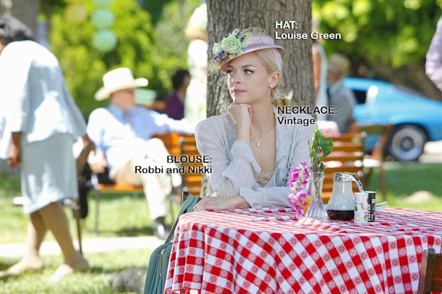 "Jaime King as Lemon Breeland in the Season 1 episode ""Faith & Infidelity."" Hart of Dixie"