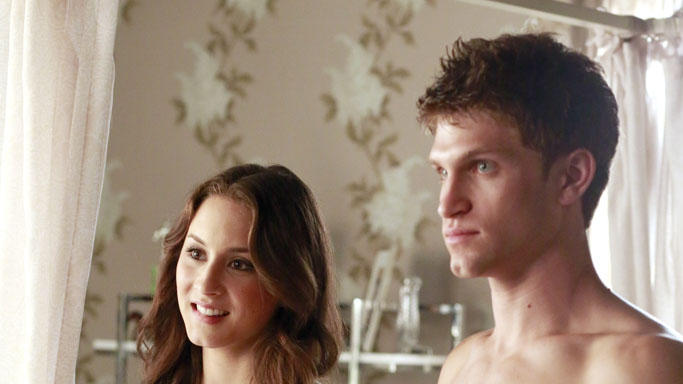 """Pretty Little Liars"" - ""Misery Loves Company"": TROIAN BELLISARIO, KEEGAN ALLEN"