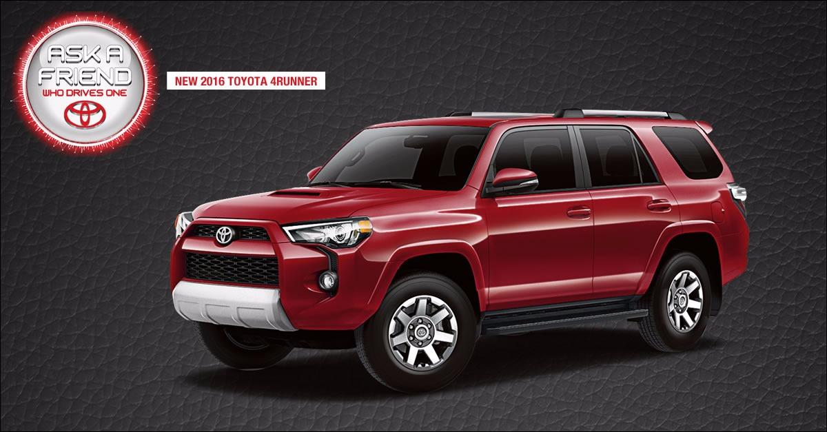 Checkout the New Look 4 Runner