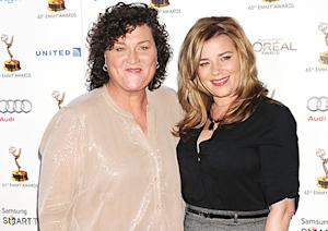 Dot-Marie Jones Is Engaged, Glee Star Set to Wed Longtime Girlfriend Bridgett Casteen