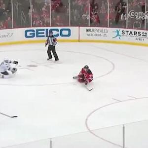 Pavelski helps Torres score on nice 2-on-1