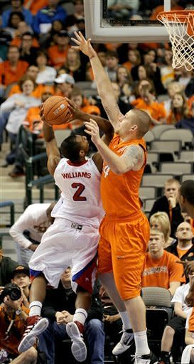 Oklahoma State beats SMU 68-58 in double OT