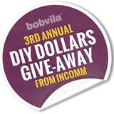 Enter Bob Vila's 3rd Annual DIY Dollars Give-Away from InComm—TODAY!