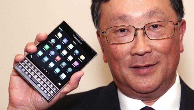 BlackBerry CEO's compensation falls from $86 million to 'only' $3.4 million in 2015