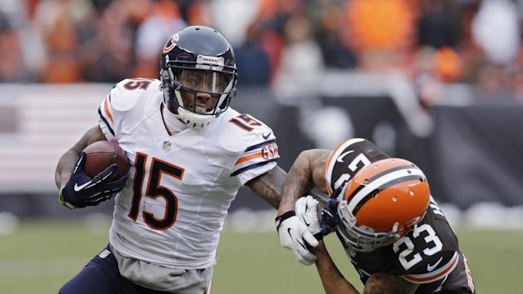 WR Marshall grateful to Bears for saving career