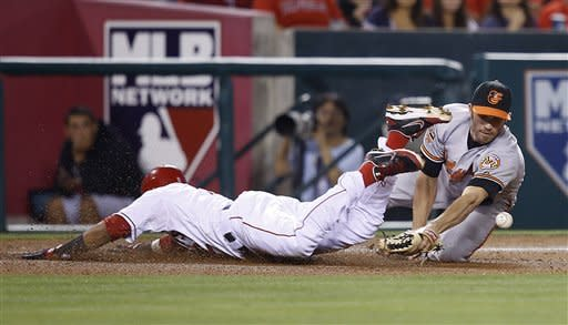 Weaver shuts down Birds in Angels' 3-0 win