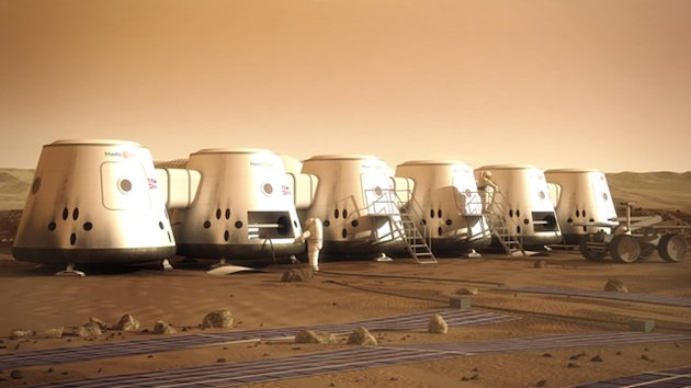 Company Offers One-Way Trip to Mars (ABC News)