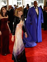 Anna Wintour at the Met Ball 2011