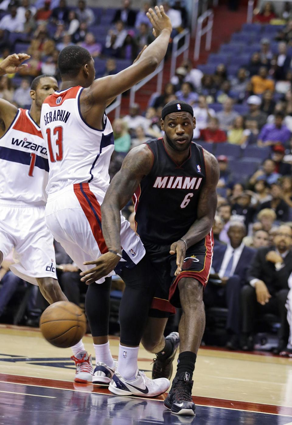 Beal scores 29 as Wizards beat Heat 100-82