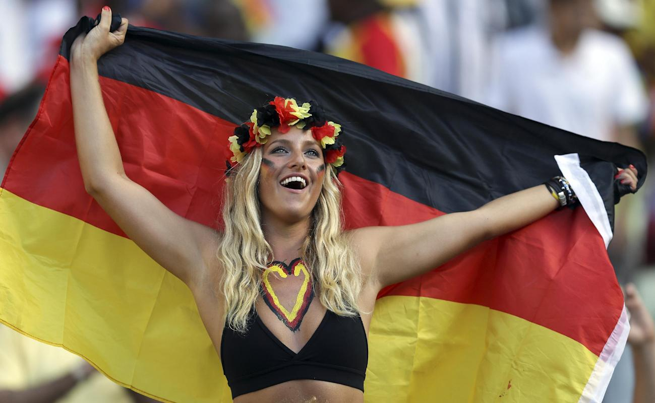 Photogenic fans of the World Cup - Day 10