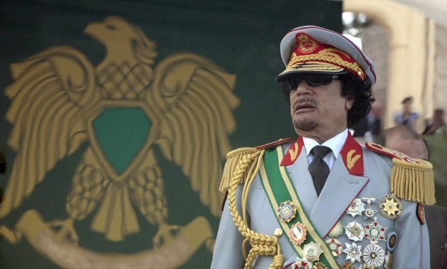 Click image to see more of dictator Moammar Gadhafi