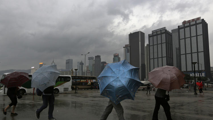 Hong Kong braces for year's most powerful typhoon