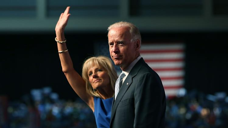 VP Biden And Jill Biden Address National Education Association Annual Mtg