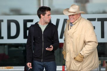 Drew Fuller and Brian Dennehy in Fox Faith's The Ultimate Gift